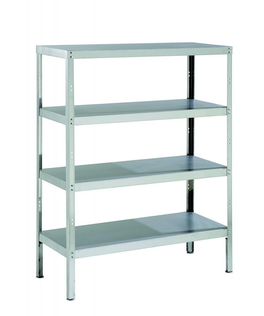 Steel Rack with Shelves